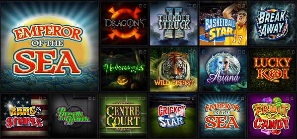 Jackpot City Game Selection