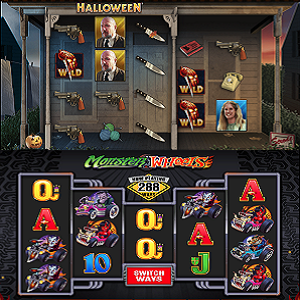 Halloween and Monster Wheels By Microgaming