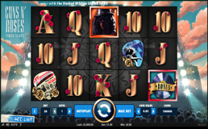 Guns N Roses Slots from NetEnt