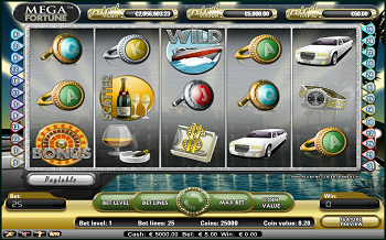 Mega Fortune Slots from NetEnt
