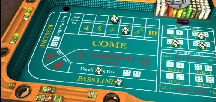 Online Craps Game For Fun