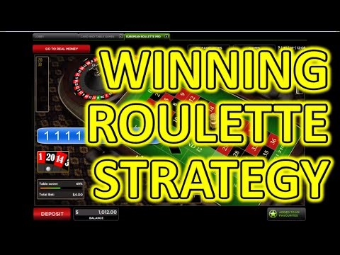 Winning Roulette Strategy