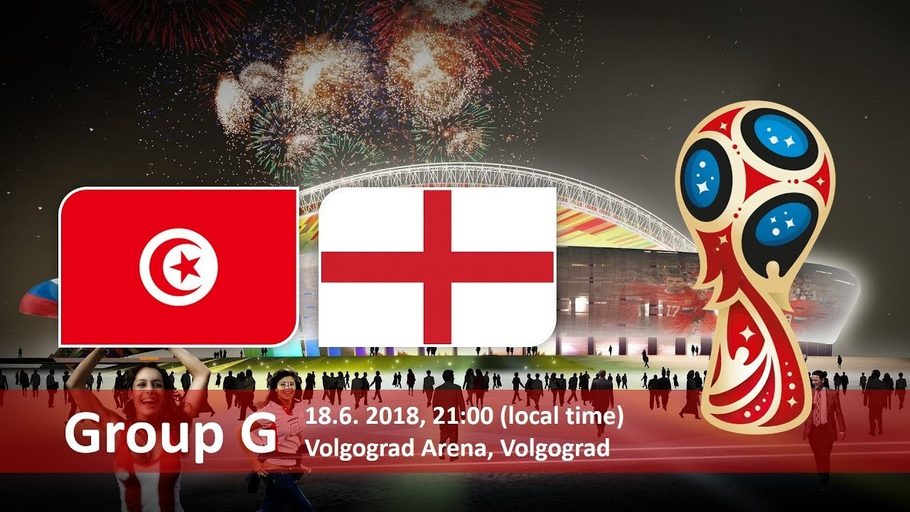 England vs Tunisia 18 June 2018 - Volograd Arena