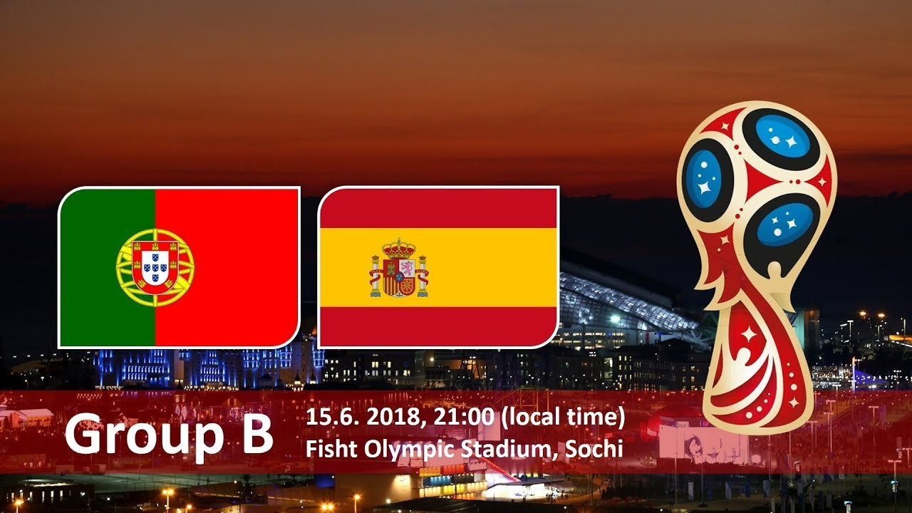 Portugal vs Spain - 15 June 2018 - Fisht Olympic Stadium, Sochi, Russia