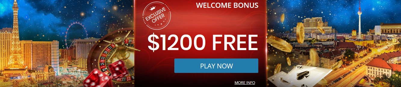 Royal Vvegas Casino Welcome Bonus