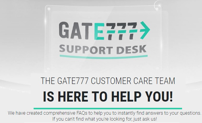 Gate777 Customer Support